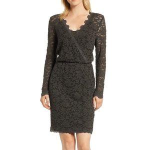 Lace Rosemunde Long Sleeve Dress
